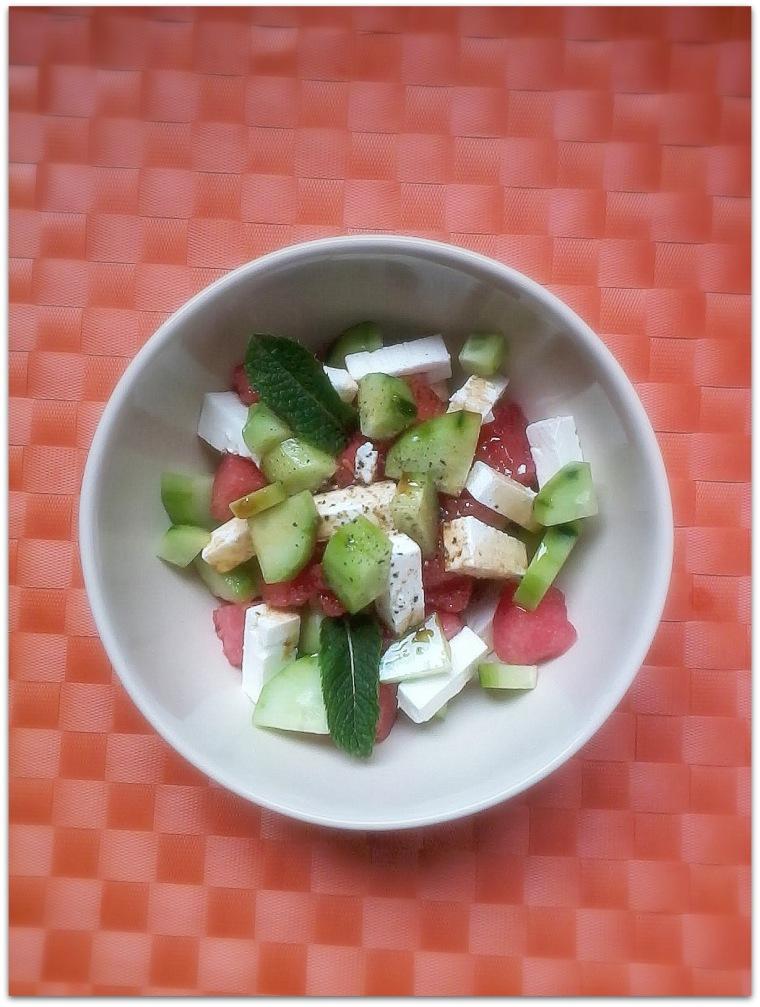 Insalata pseudo greca ai due cucumbers